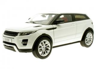 Land Rover Evoque Coupe weiß Welly GTA 1:18