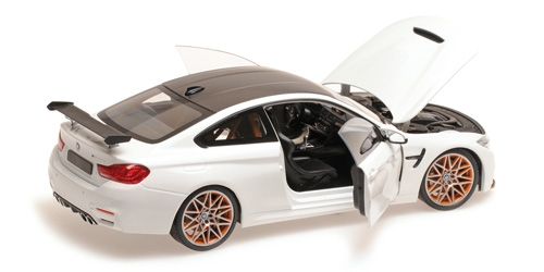 modellauto bmw m4 gts 2016 wei minichamps 1 18 bei. Black Bedroom Furniture Sets. Home Design Ideas