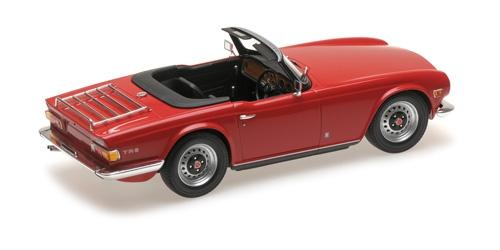 modellauto triumph tr6 1969 red rhd l e 500 pcs minichamps 1 18 metallmodell mit. Black Bedroom Furniture Sets. Home Design Ideas
