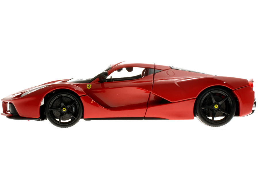 Voiture Miniature Ferrari Laferrari 2013 Rot Burago 1 18