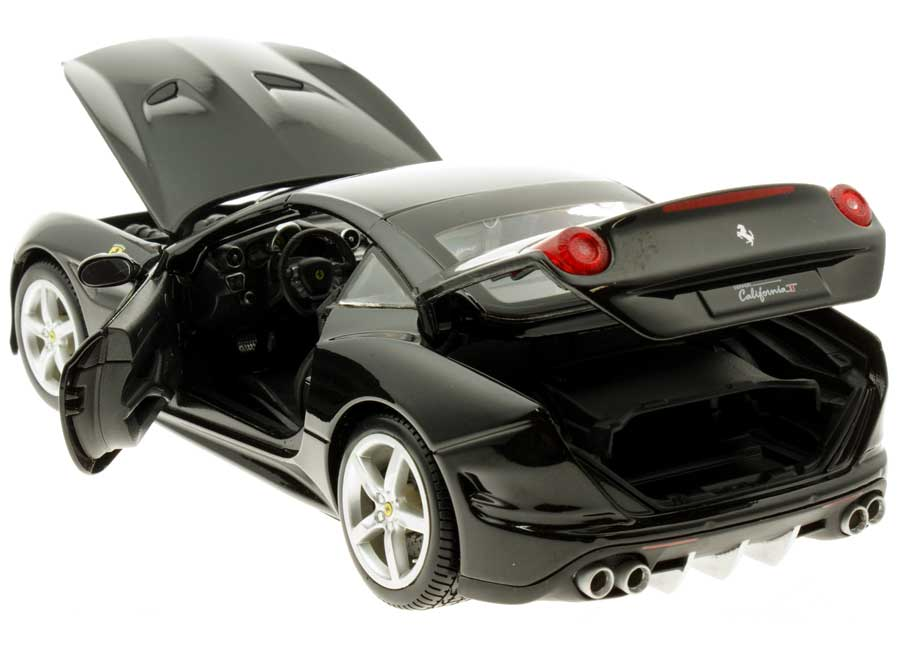 Ferrari California T (Closed Top) schwarz Burago 1:18