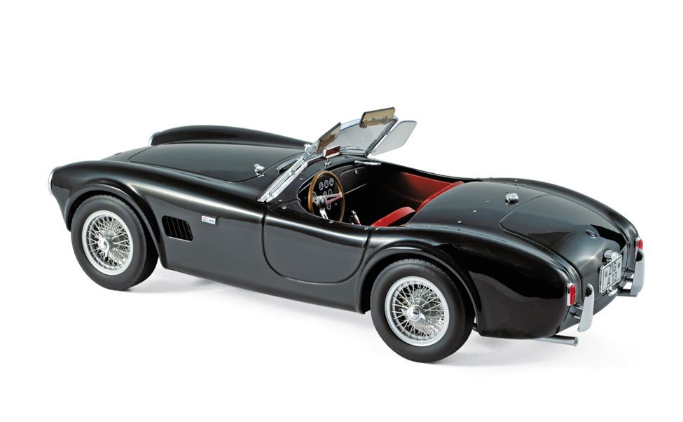 modellauto ac cobra 289 1963 schwarz norev 1 18 t ren motorhaube nicht zu ffnen bei. Black Bedroom Furniture Sets. Home Design Ideas