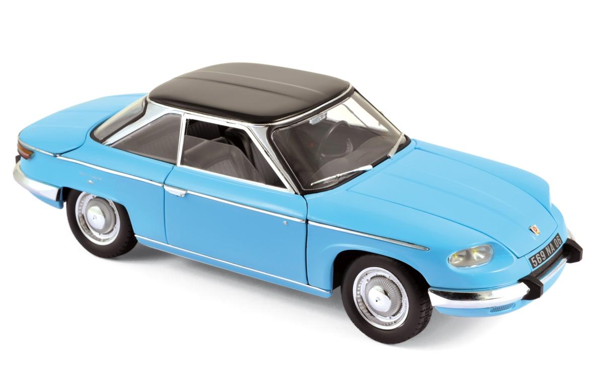 modellauto panhard 24 ct 1964 tolede blue black norev 1 18 bei. Black Bedroom Furniture Sets. Home Design Ideas