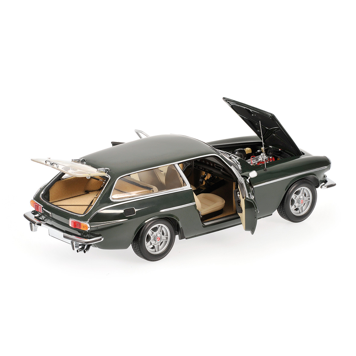 modellauto volvo p 1800 es 1971 green minichamps 1 18 bei. Black Bedroom Furniture Sets. Home Design Ideas