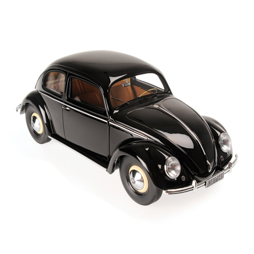 modellauto volkswagen 1200 1949 black minichamps 1 18 resinemodell t ren motorhaube. Black Bedroom Furniture Sets. Home Design Ideas