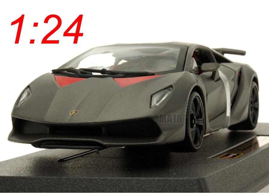 Voiture Miniature Lamborghini Sesto Elemento Burago 1 24 Sur