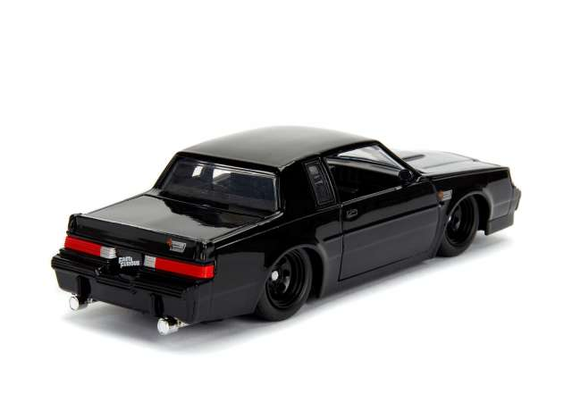 Dom`s 1987 Buick Grand National *Fast and Furious*, black Jada 1:24