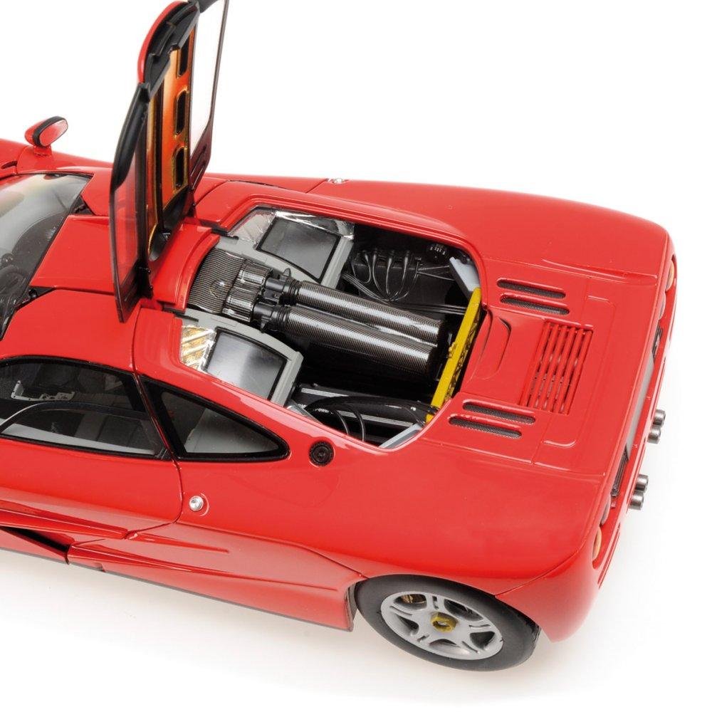 modellauto mclaren f1 - road car - 1993 - red minichamps 1:18 bei