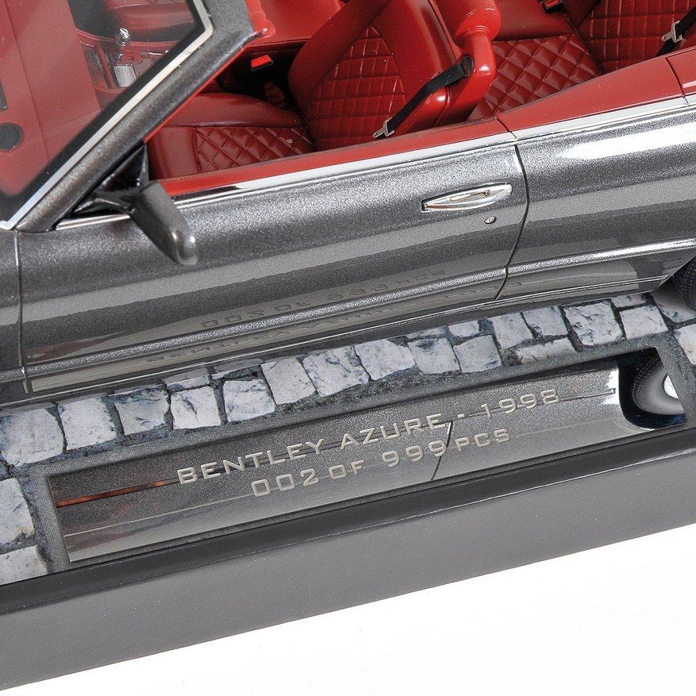 modellauto bentley continental azure 1996 grey metallic minichamps 1 18 resinemodell t ren. Black Bedroom Furniture Sets. Home Design Ideas