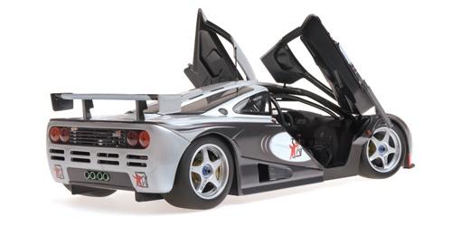 modelcar mclaren f1 gtr – 'adrenaline program' minichamps 1:18 at