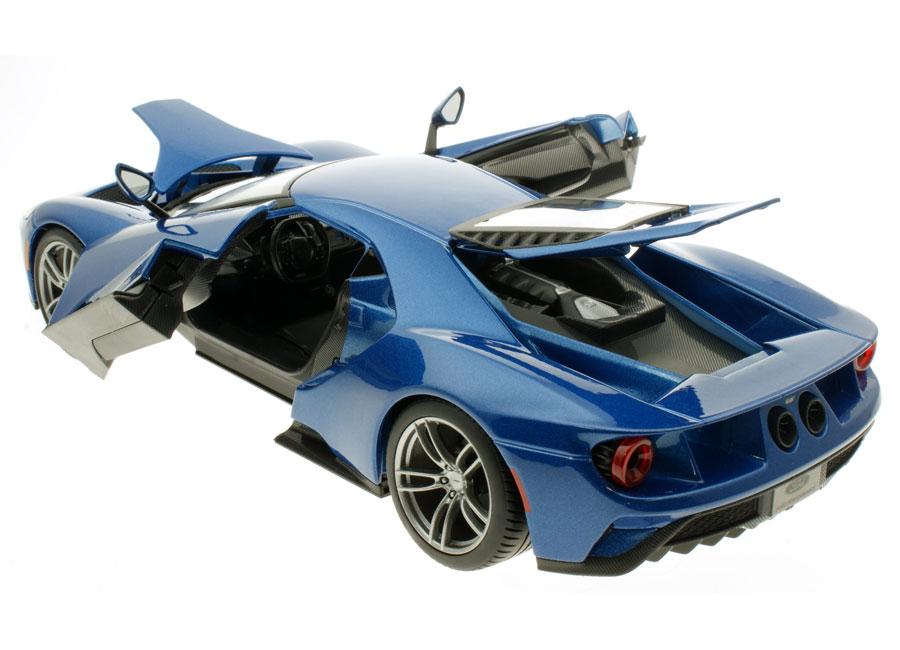 Modellauto Ford Gt 2017 Blau Maisto Special Edition 1 18