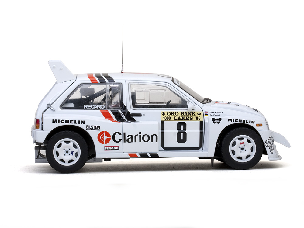 Modelcar MG Metro 6R4 - #8 P.Eklund/D.Whittock 1000 Lakes Rally ...