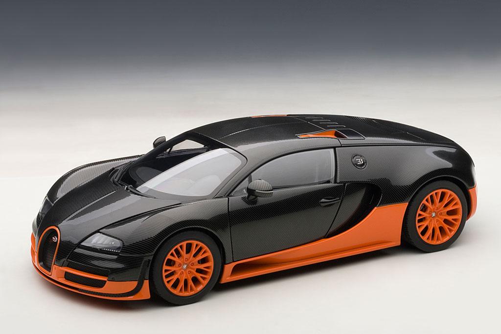 modellauto bugatti veyron 16 4 super sport carbon black. Black Bedroom Furniture Sets. Home Design Ideas
