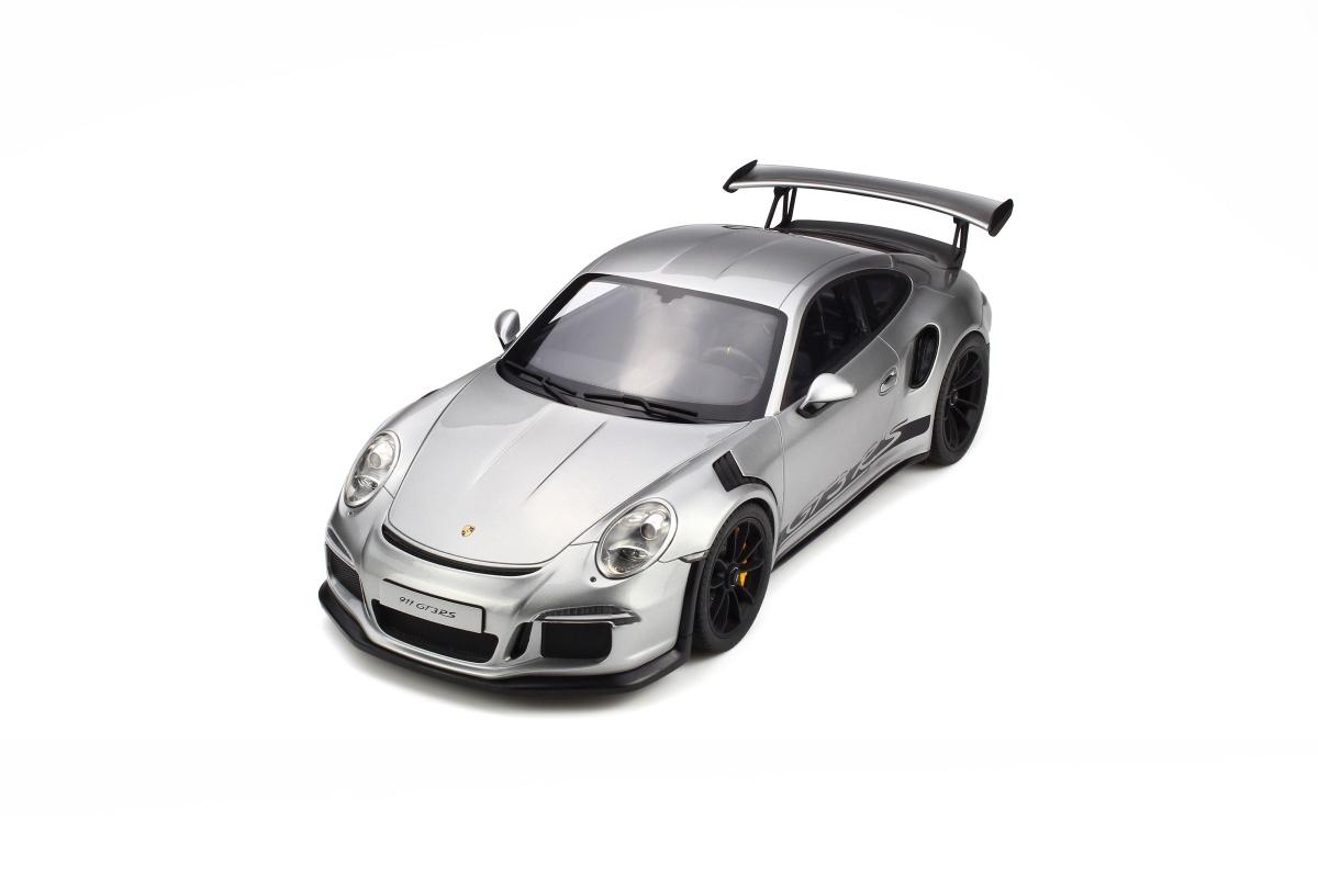 Modellauto PORSCHE 911 GT3 RS 991 Pcs Silver