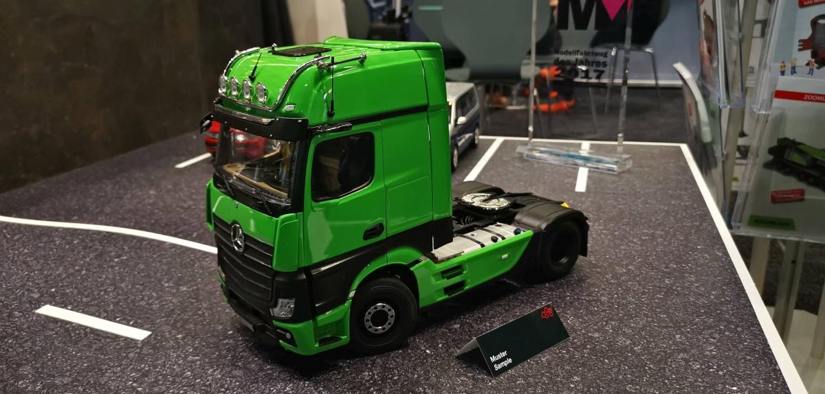 Promo Mercedes Actros Gigaspace Serie Begrenzte Traktor nur 1//43 Ref 116457