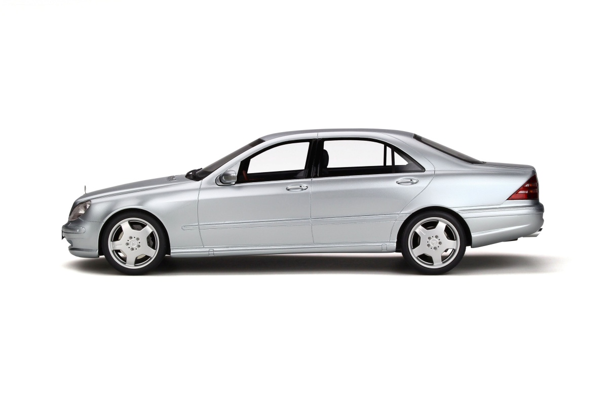 Mercedes Benz S55 AMG W220 Brilliant Silver Limited To 2000 Pcs OttO