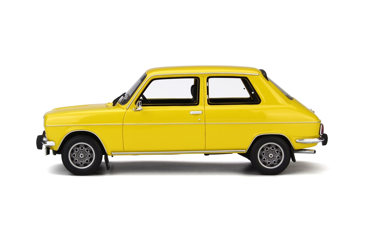 modellauto simca 1100 ti gelb 999 pcs otto mobile 1 18 resinemodell t ren motorhaube nicht. Black Bedroom Furniture Sets. Home Design Ideas