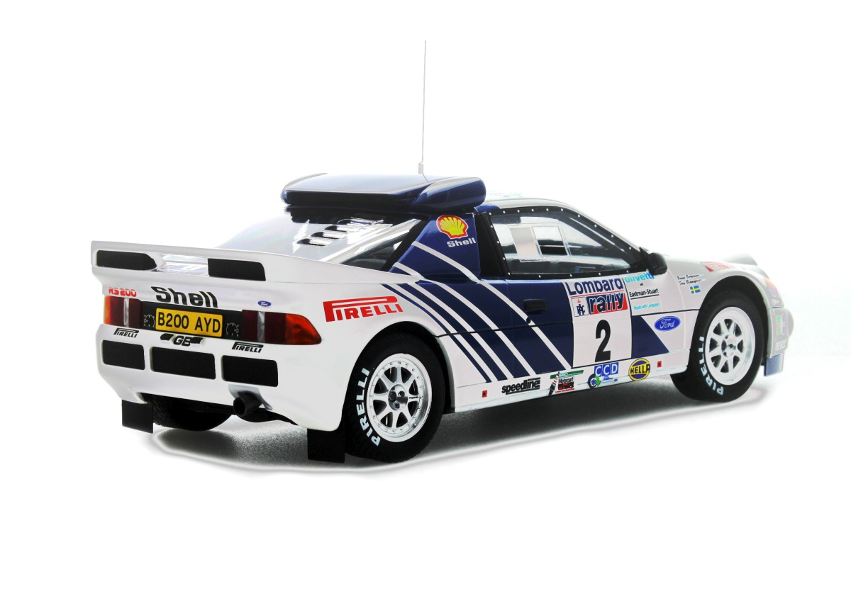 Modelcar Ford Rs200 Groupe B Lombard Rally (RAC) 1986 Limited to ...