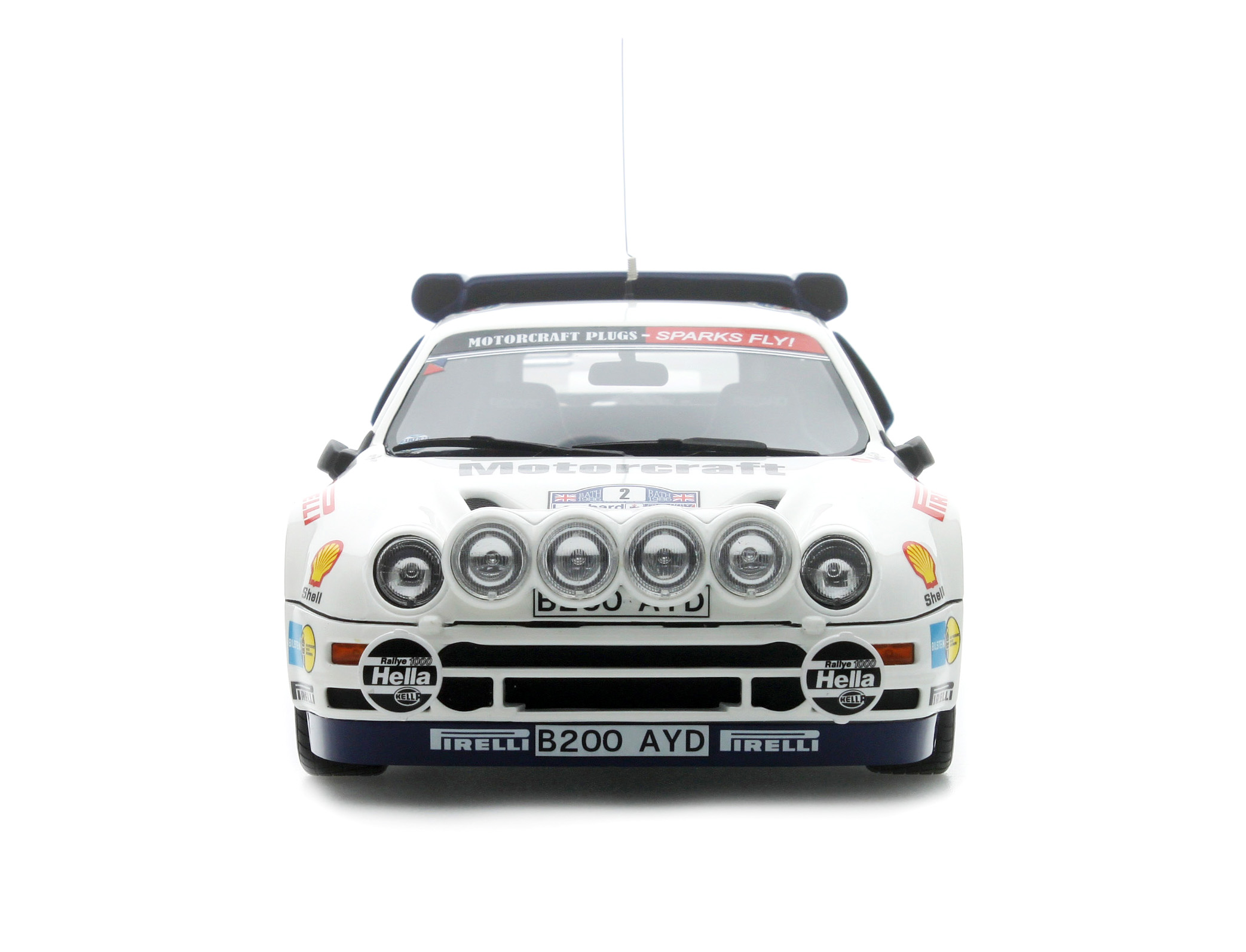 ford rs200 groupe b lombard rally rac 1986 limited to 2000 pcs otto mobile
