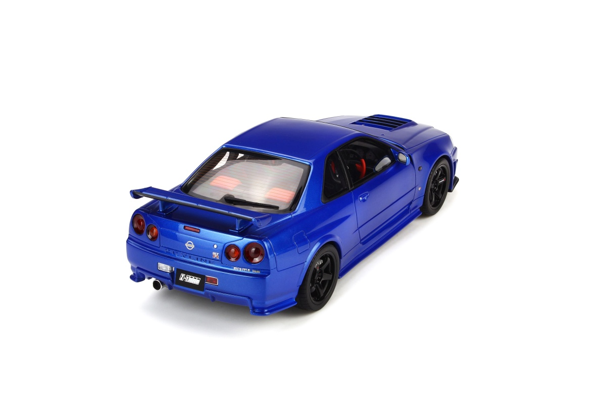 Modellauto Nismo R34gt R Z Tune 1500 Pcs Blau Lieferbar Ab Ende