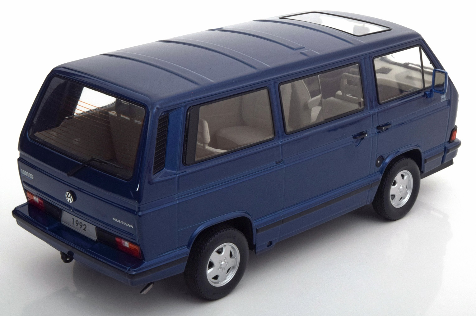modellauto vw t3 limited last edition 1992 blau kk scale. Black Bedroom Furniture Sets. Home Design Ideas