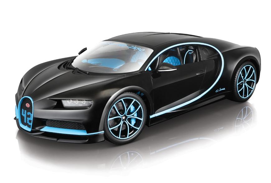 modellauto bugatti chiron schwarz blau liefertermin nicht bekannt burago 1 18 bei. Black Bedroom Furniture Sets. Home Design Ideas