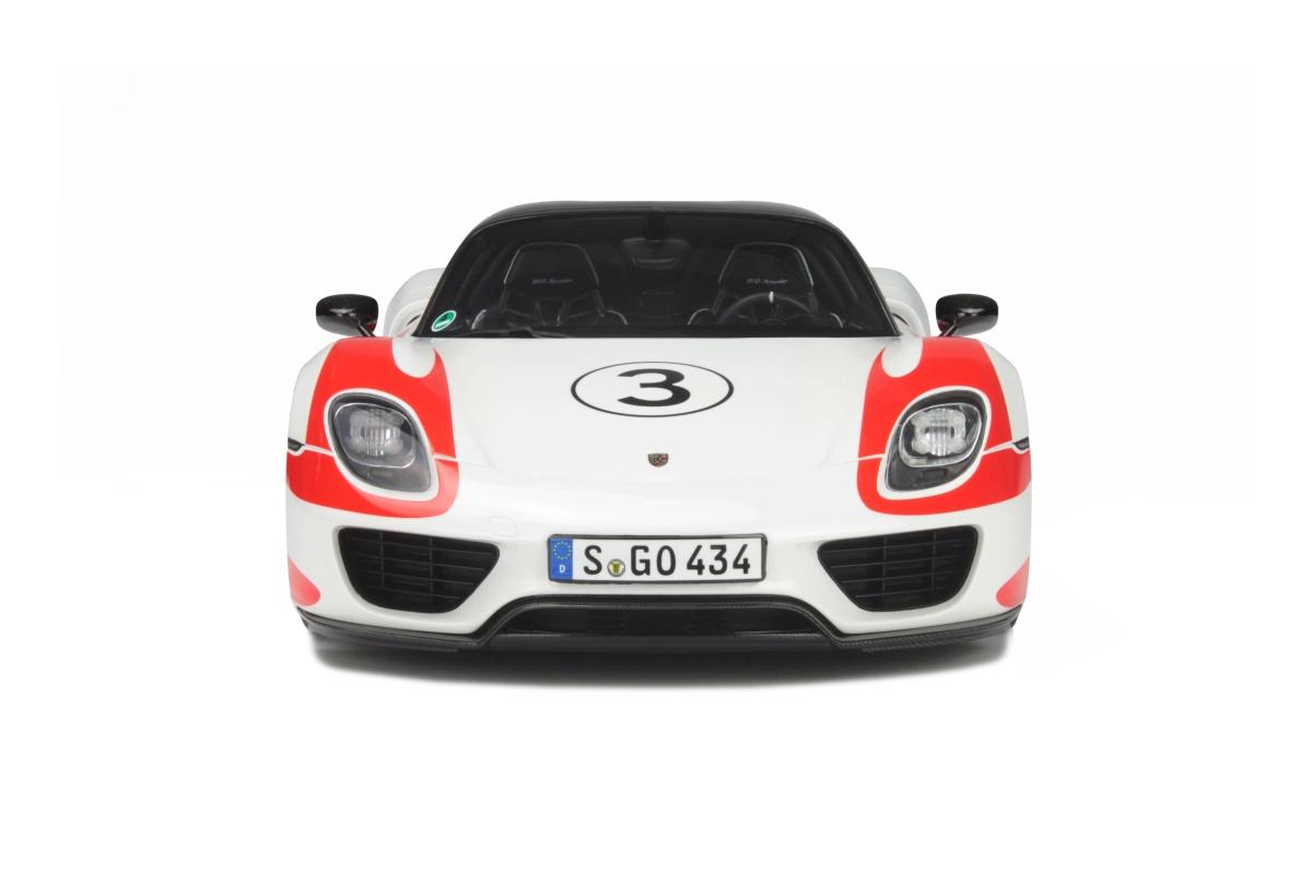 modelcar porsche 918 spyder weissach package limited to 500 pcs gt #0: gt078 7
