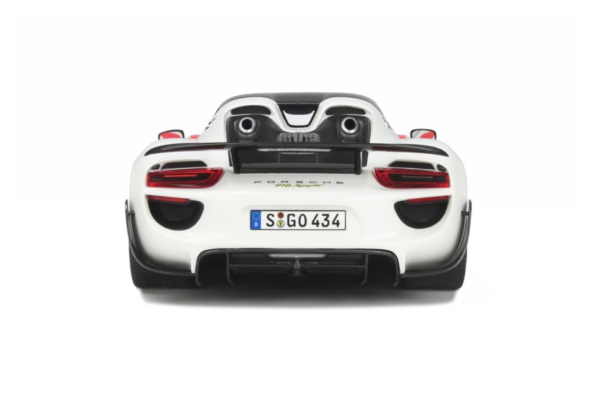 Porsche 918 Spyder Weissach Package Limited To 500 Pcs GT Spirit OttO Mobile 1