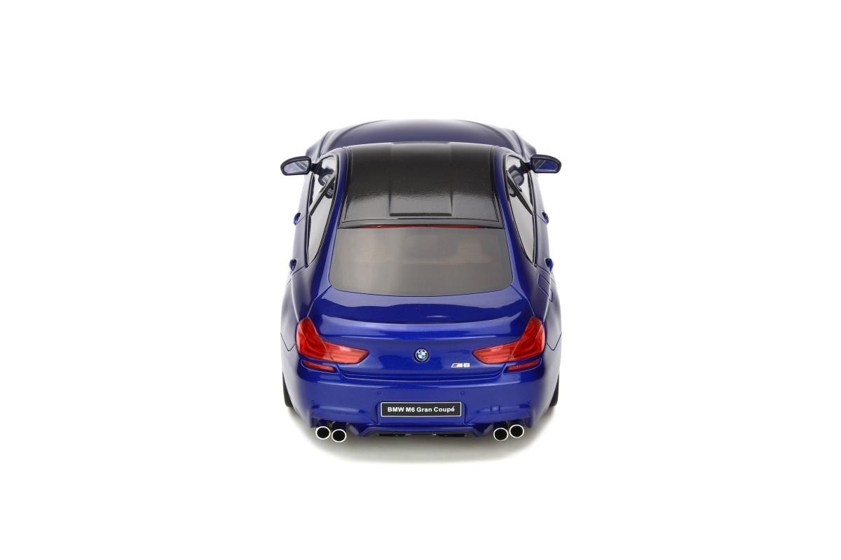 modellauto bmw m6 gran coupe san marino blue limited to. Black Bedroom Furniture Sets. Home Design Ideas