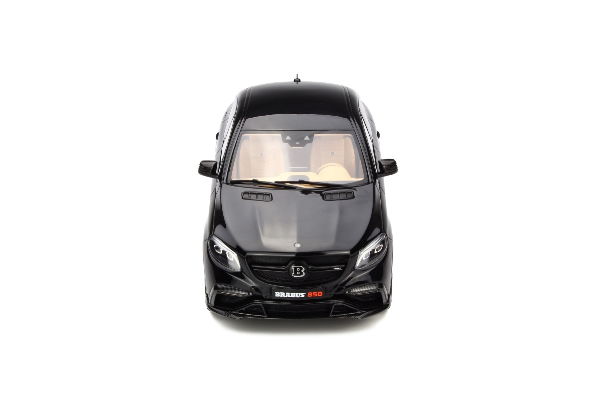 modellauto brabus gle 850 obsidian black limited to 500. Black Bedroom Furniture Sets. Home Design Ideas