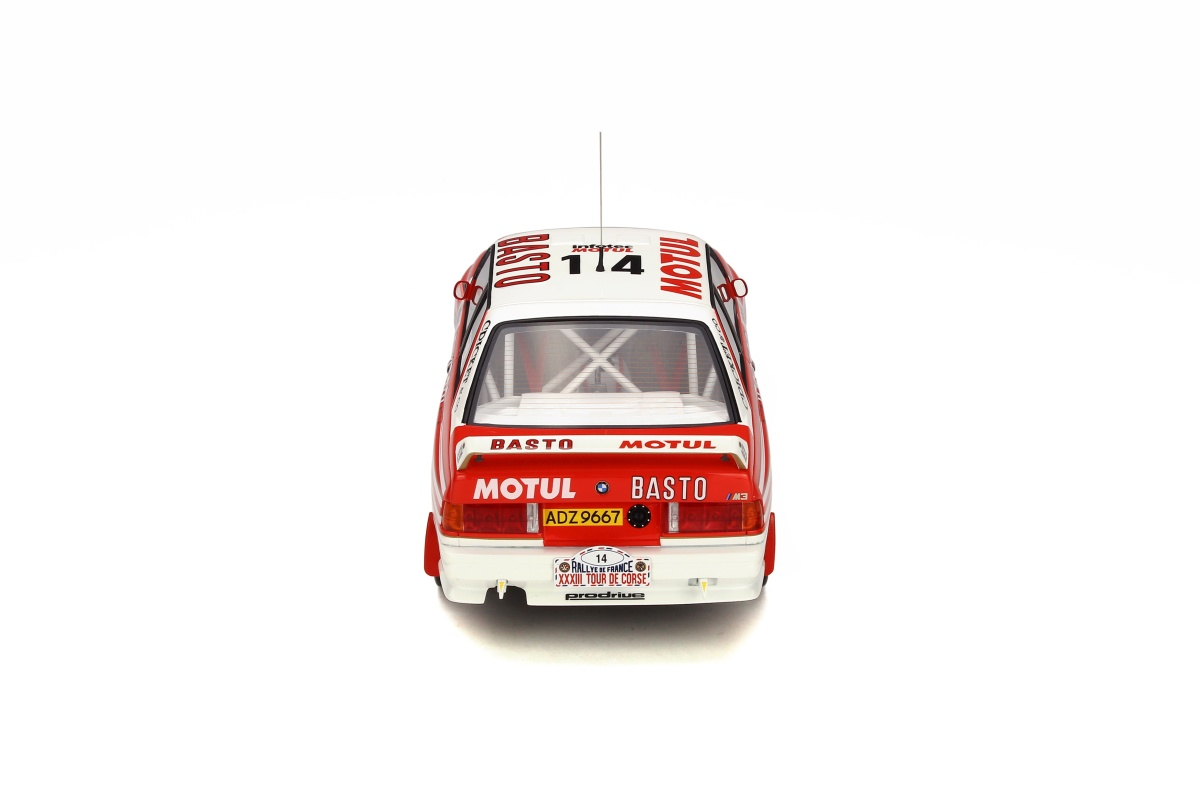 modellauto bmw m3 e30 rally tour de corse 1989 limited to. Black Bedroom Furniture Sets. Home Design Ideas